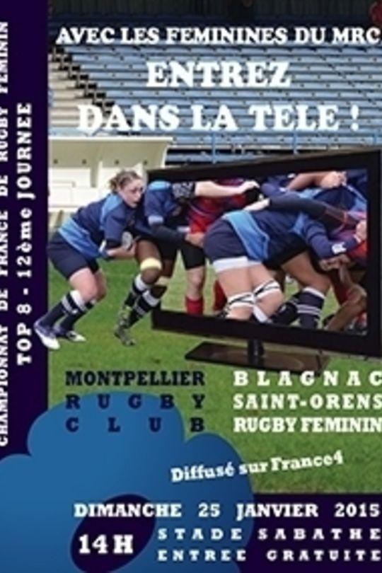Montpellier Rugby Calendrier.Top 8 Rugby Feminin Montpellier Blagnac Saint Orens