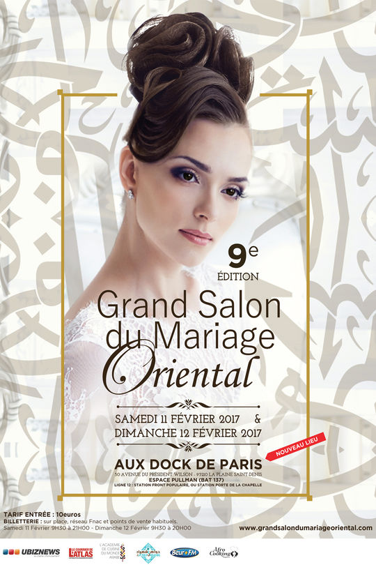 Assister à Le Grand Salon du Mariage Oriental de Paris avec Weclap